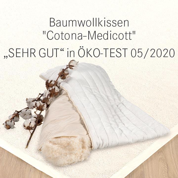 Baumwollkissen Cotona-Medikott