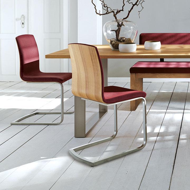Stuhl und Sitzbank Auricia