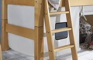 Spielvorhang für Mini-Hochbett