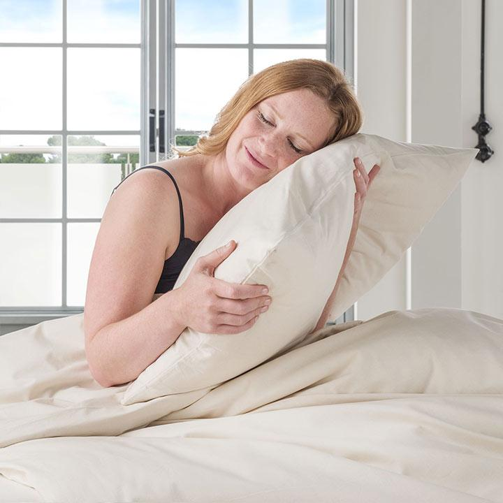 Allergiker-Kissen mit waschbaren Bezügen