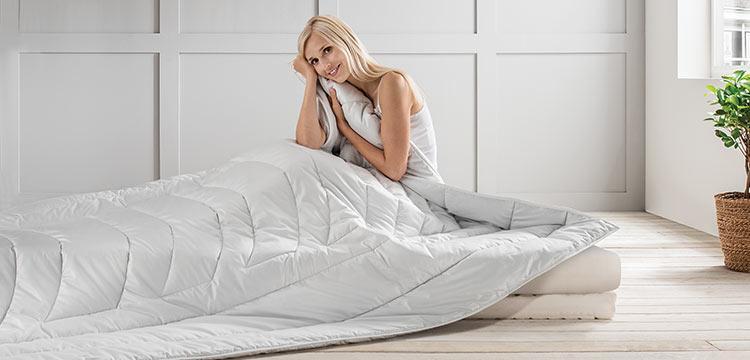 Koerperzonen Bettdecke Boviva Figura