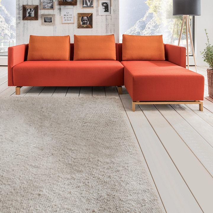Couch mit Recamiere Fino - individuell gestalten