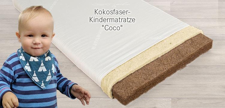 Kokosfaser-Kindermatratze Coco