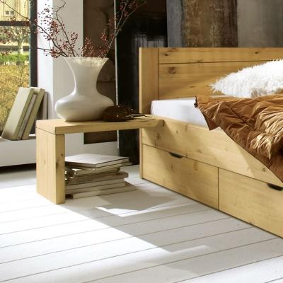Empfehlung: Nachttisch für Kiefer Schubkastenbett  von allnatura*