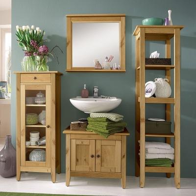Empfehlung: Badezimmer Regal FSC Kiefernholz massiv  von allnatura*