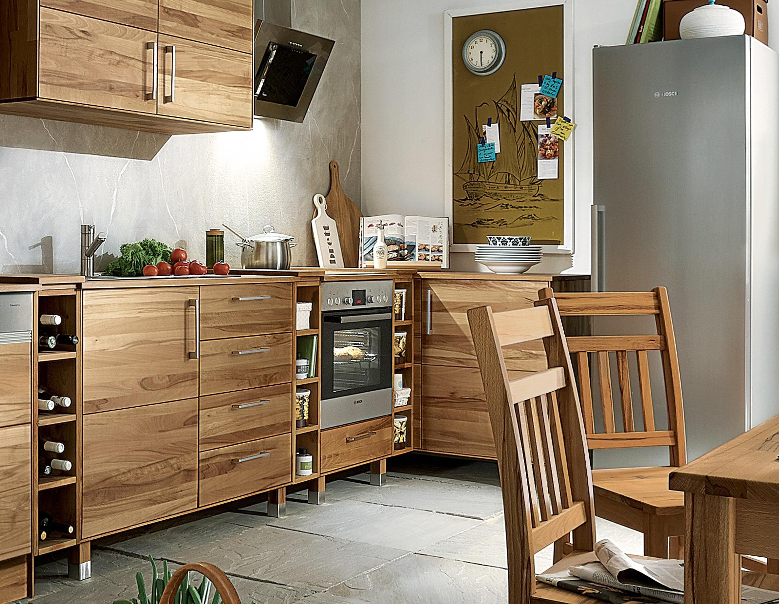 k chen eckunterschrank culinara eiche 100 massivholz. Black Bedroom Furniture Sets. Home Design Ideas