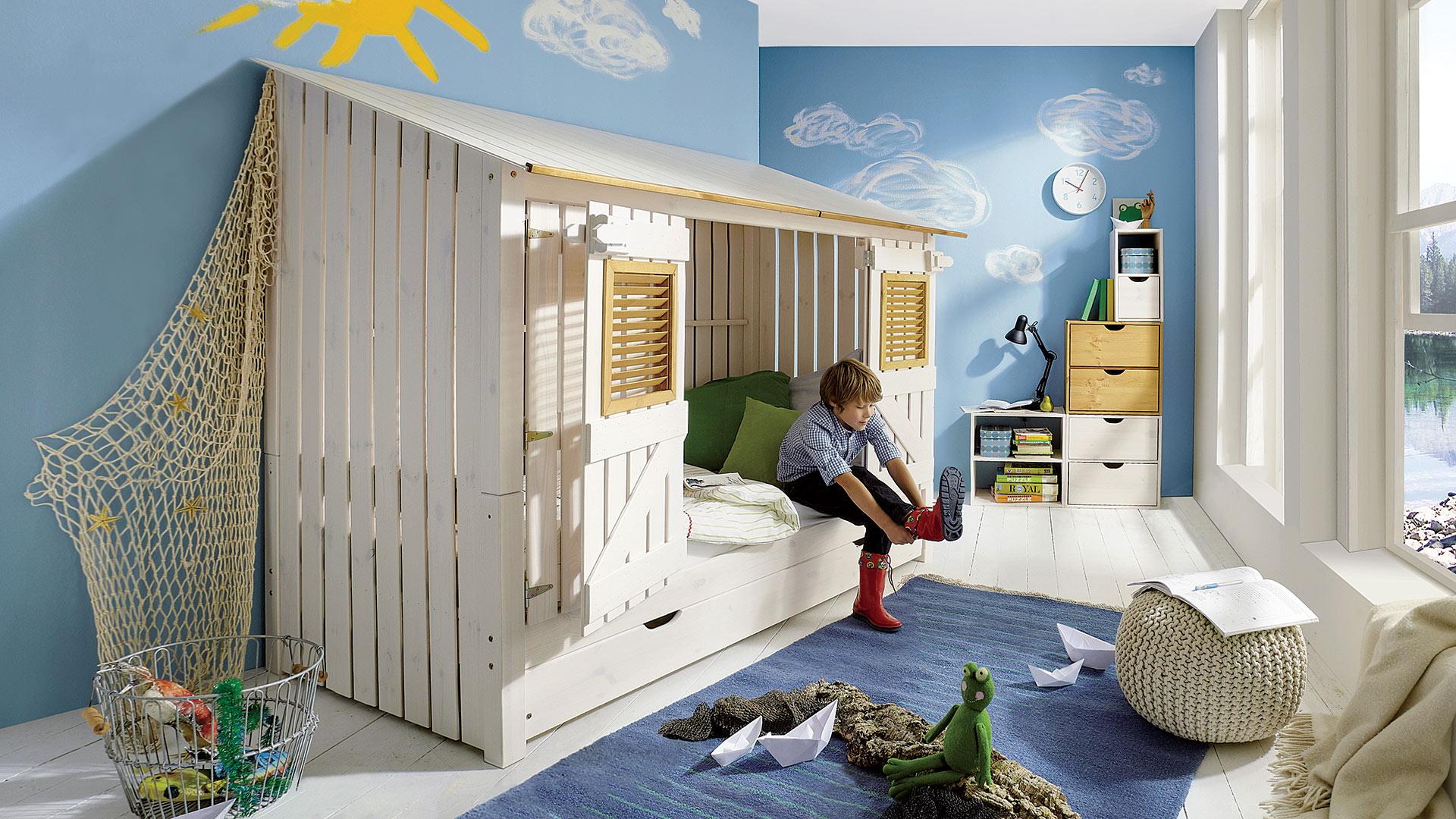 Abenteuerbett kiddy - Kinderzimmer echtholz ...