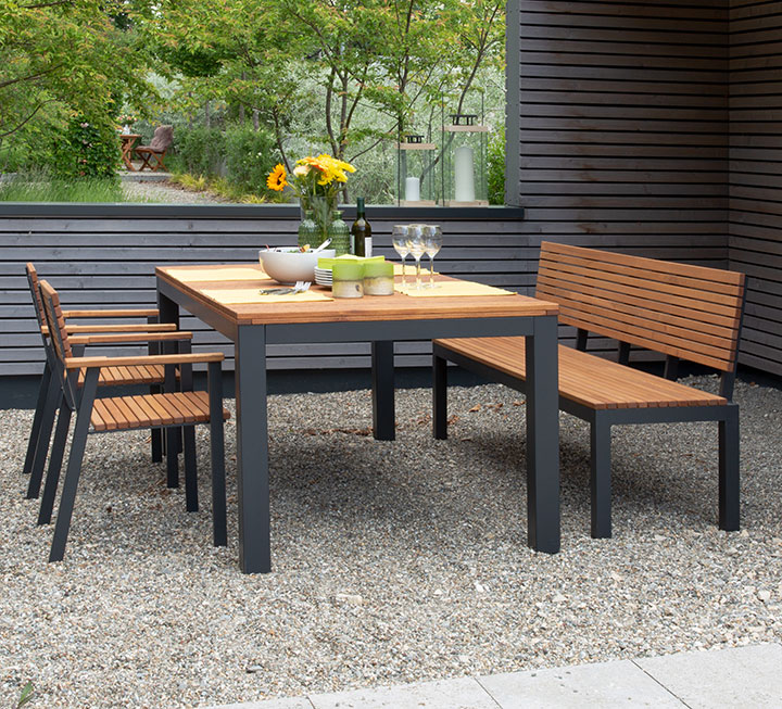 Gartenmöbel Sets Aus Massivholz