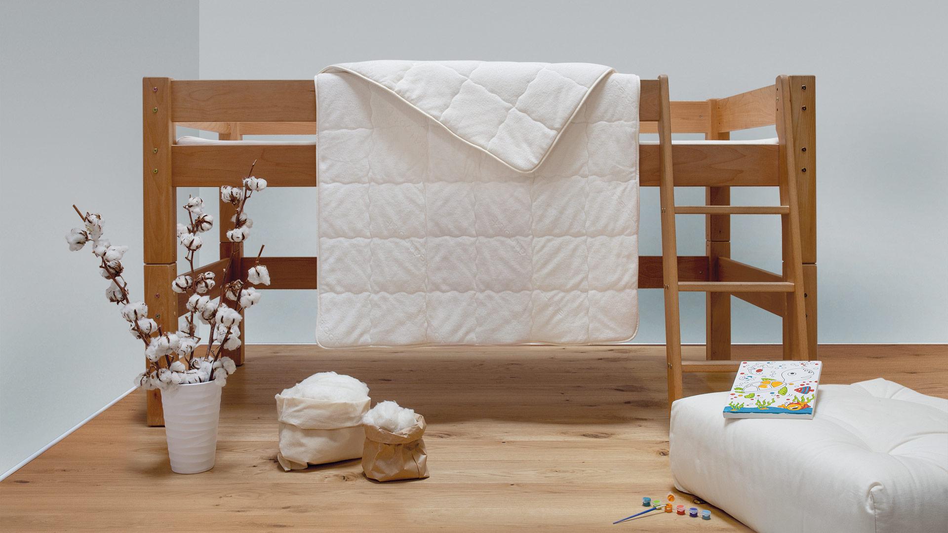 baumwoll kinder bettdecke cotona medicott. Black Bedroom Furniture Sets. Home Design Ideas