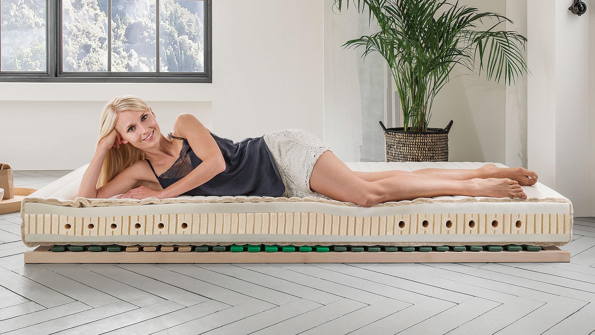 visco naturlatex matratze vitastar. Black Bedroom Furniture Sets. Home Design Ideas