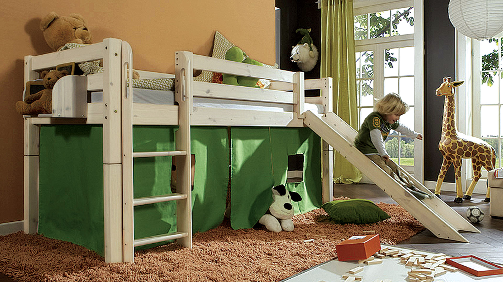 bett zum hochbett umbauen wohn design. Black Bedroom Furniture Sets. Home Design Ideas