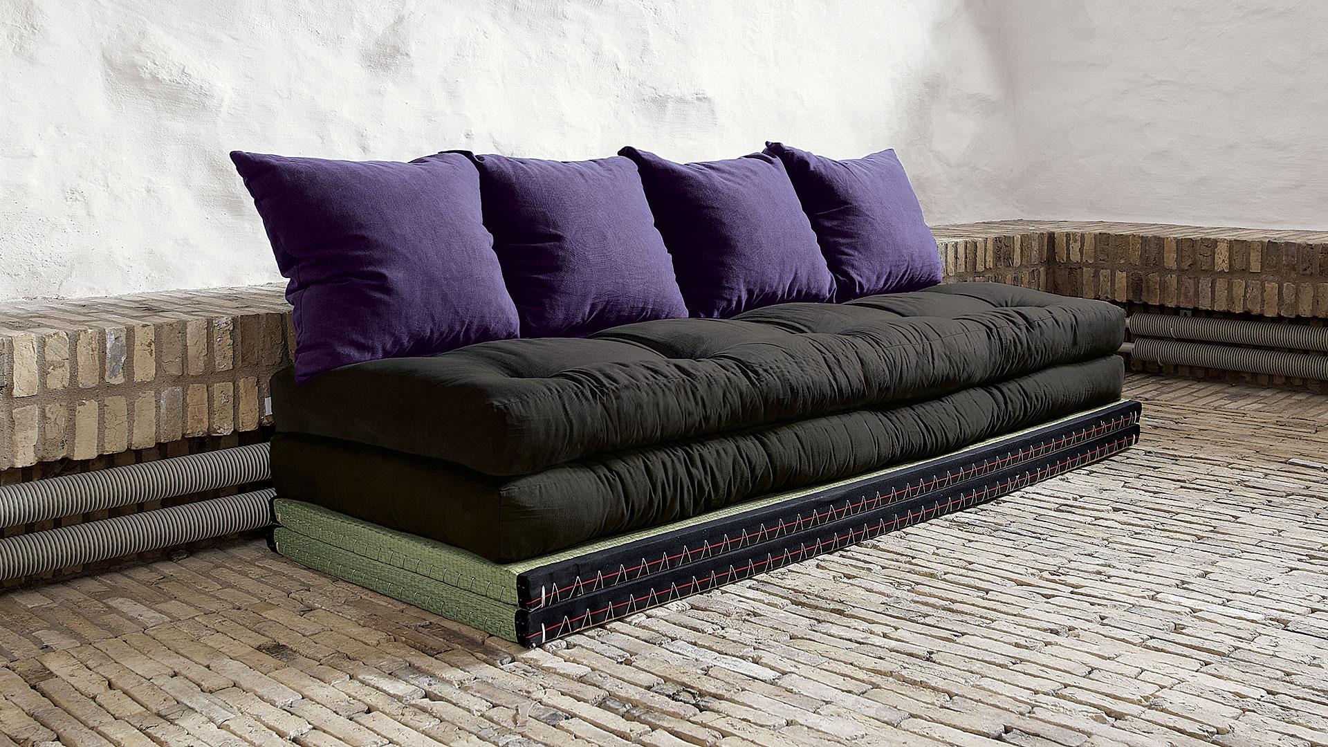 futon schlafsofa kani. Black Bedroom Furniture Sets. Home Design Ideas