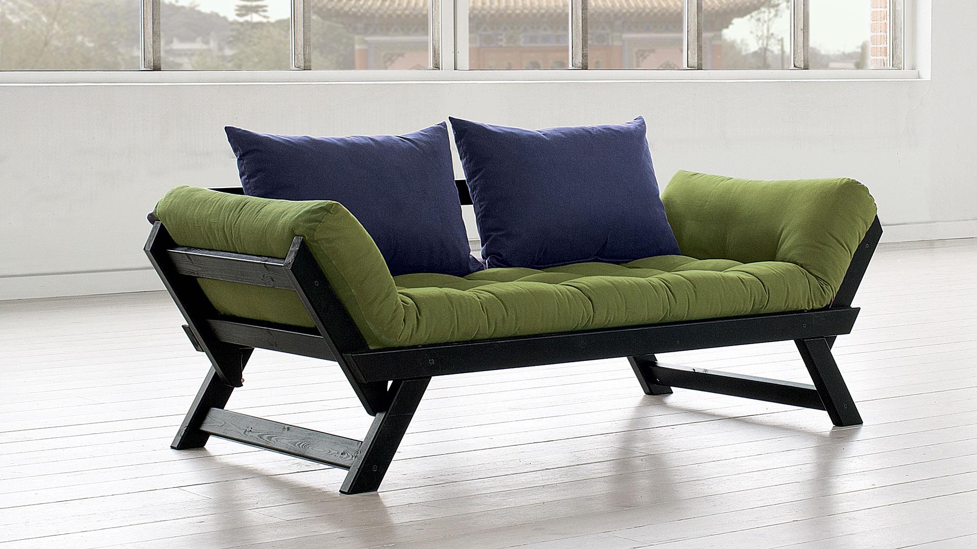 futon schlafsofa masu. Black Bedroom Furniture Sets. Home Design Ideas