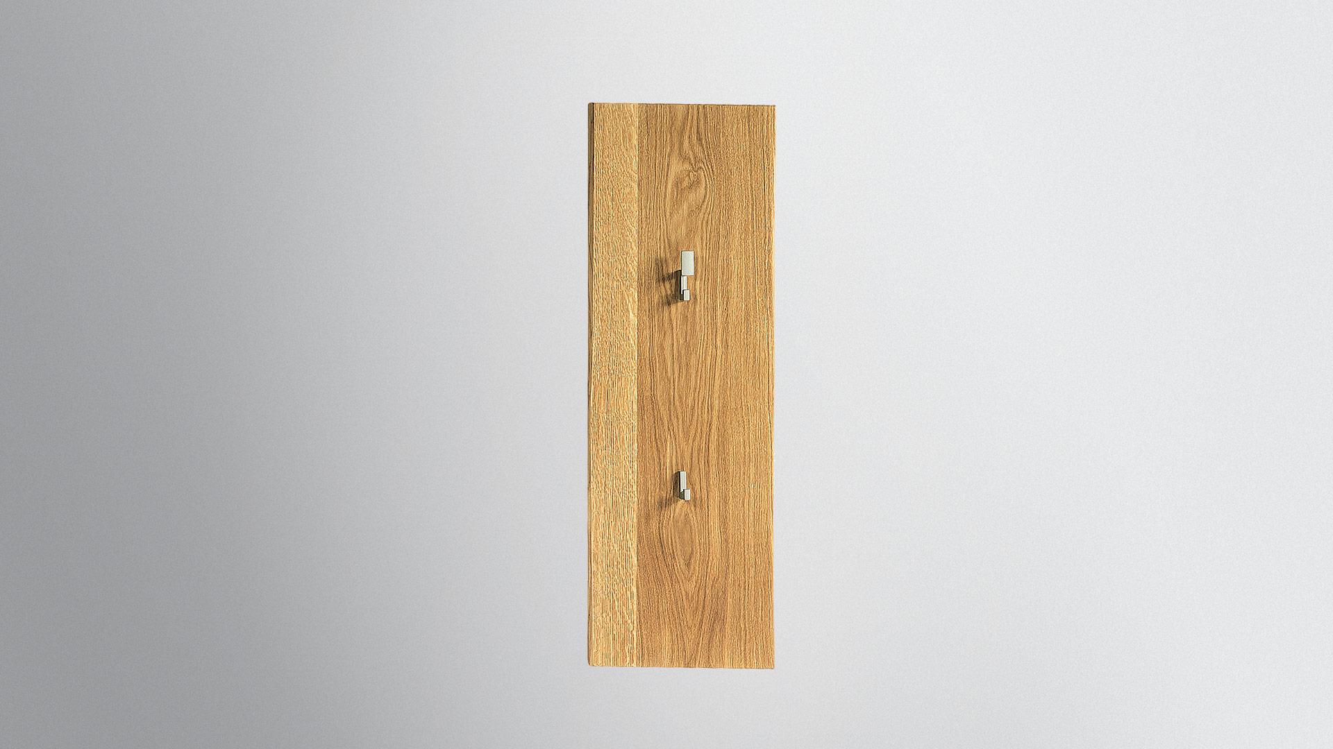 Klein garderobe loca for Garderobenpaneel holz