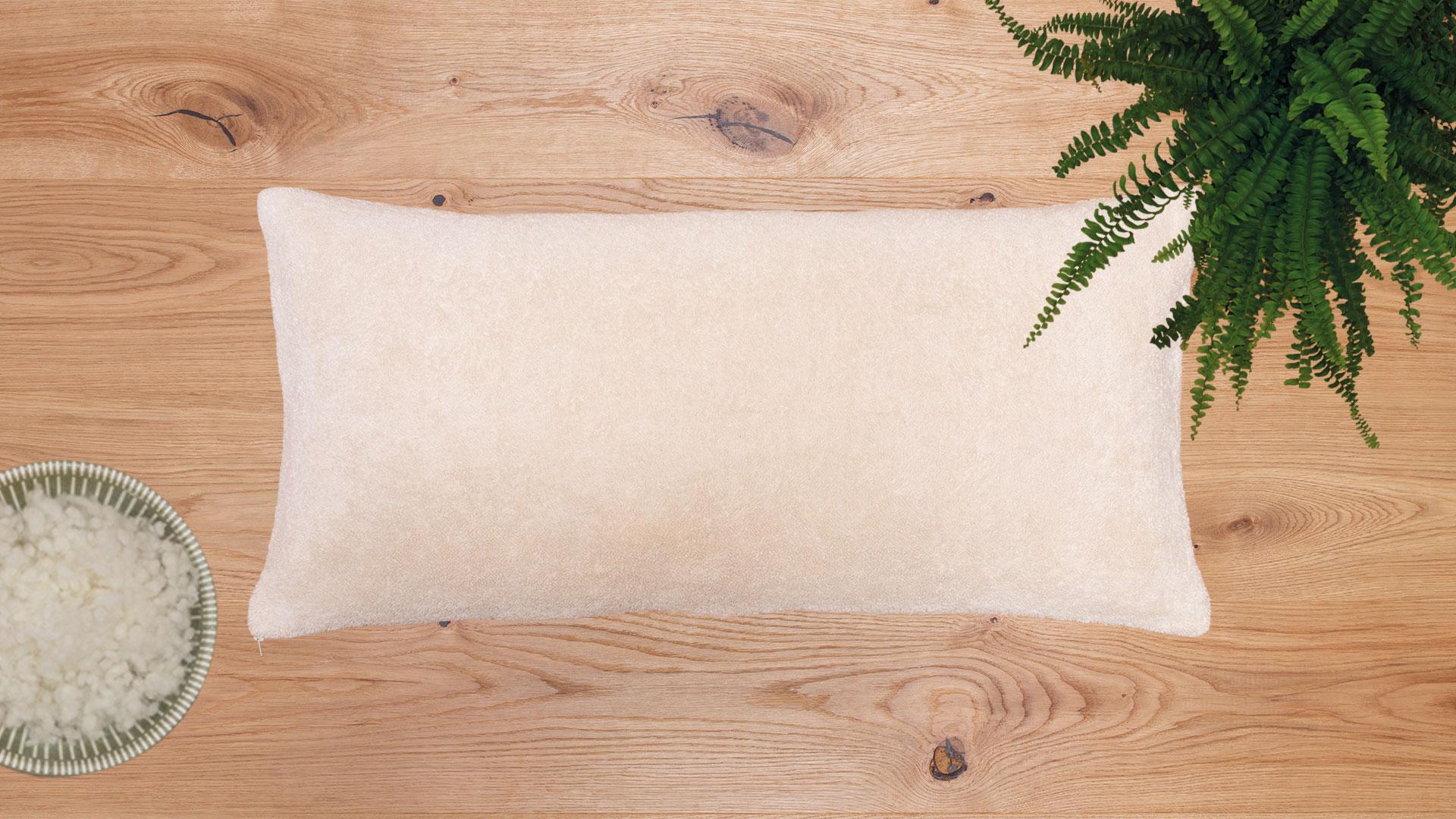 baumwollfrottier kissen nido. Black Bedroom Furniture Sets. Home Design Ideas