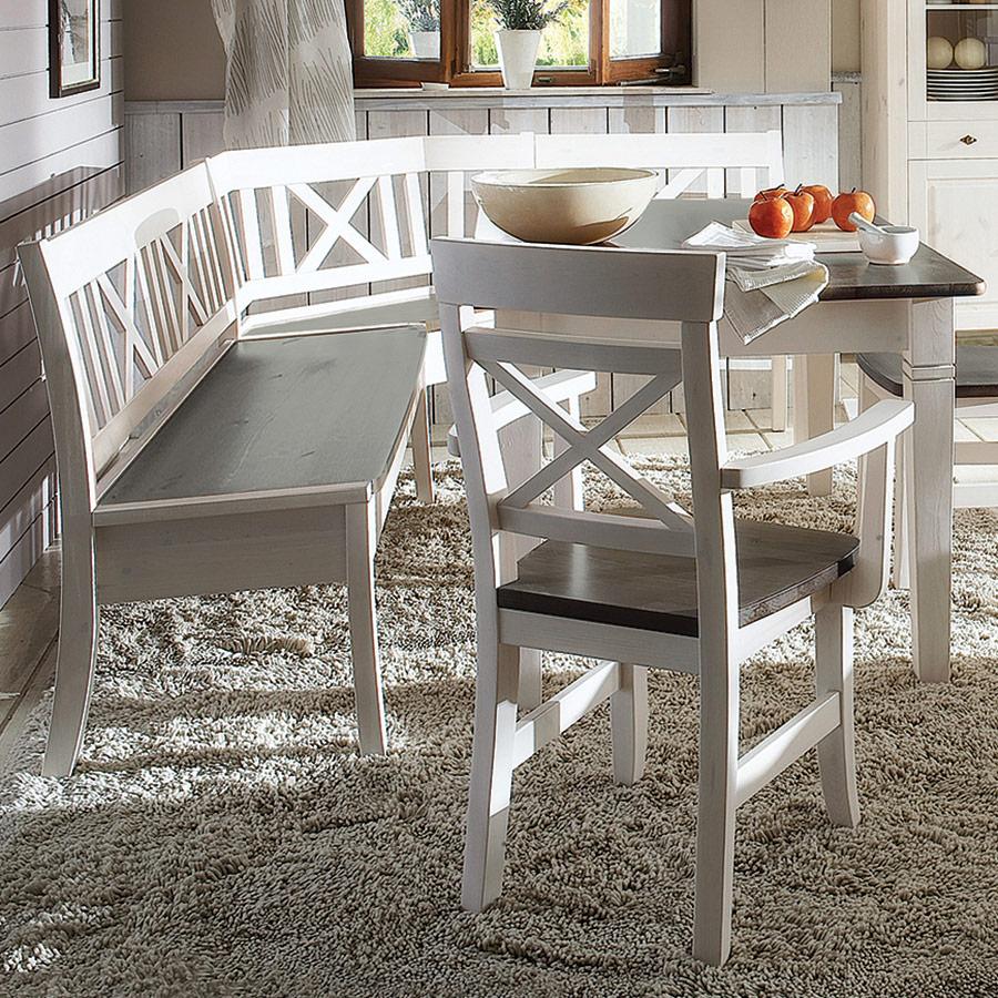 eckbank romantico. Black Bedroom Furniture Sets. Home Design Ideas