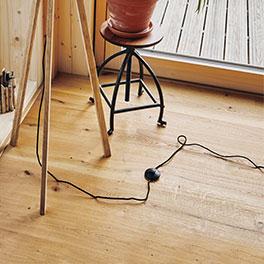 Deckenleuchte moderne natürliche Holzfurnier exklusive Lampe
