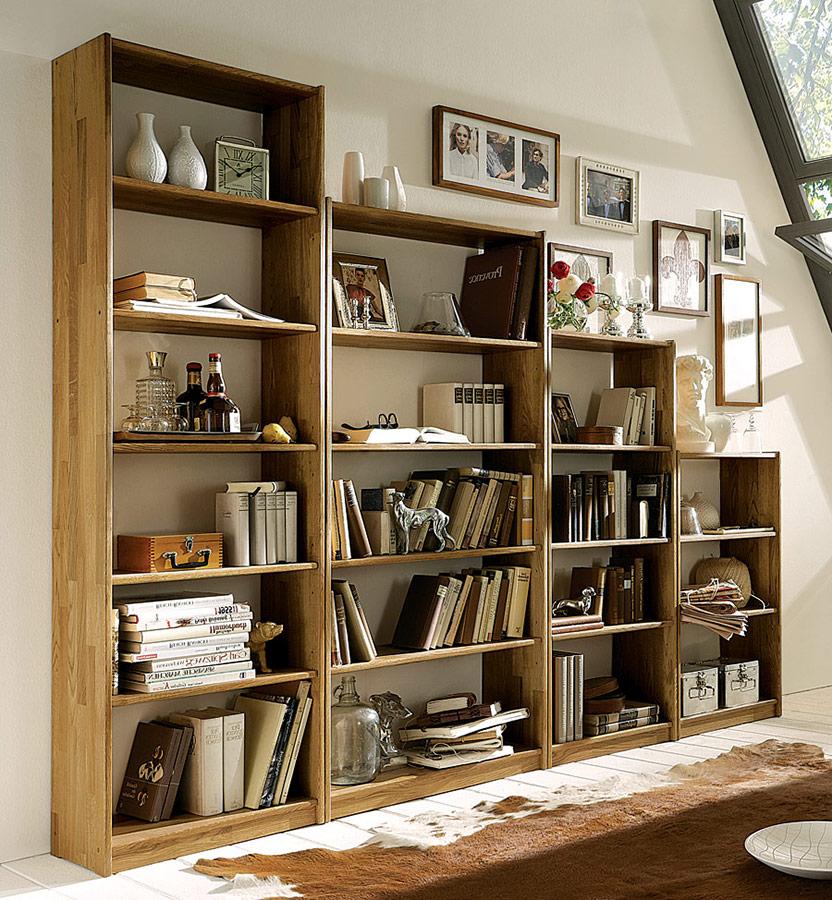 Bücherregal Libresca Klassisches Regal aus hochwertiger