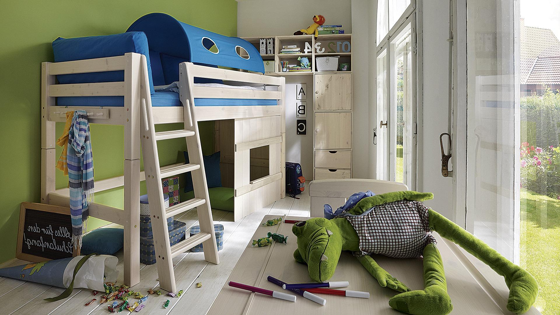 holzverkleidung f r mittel hochbett kiddy. Black Bedroom Furniture Sets. Home Design Ideas