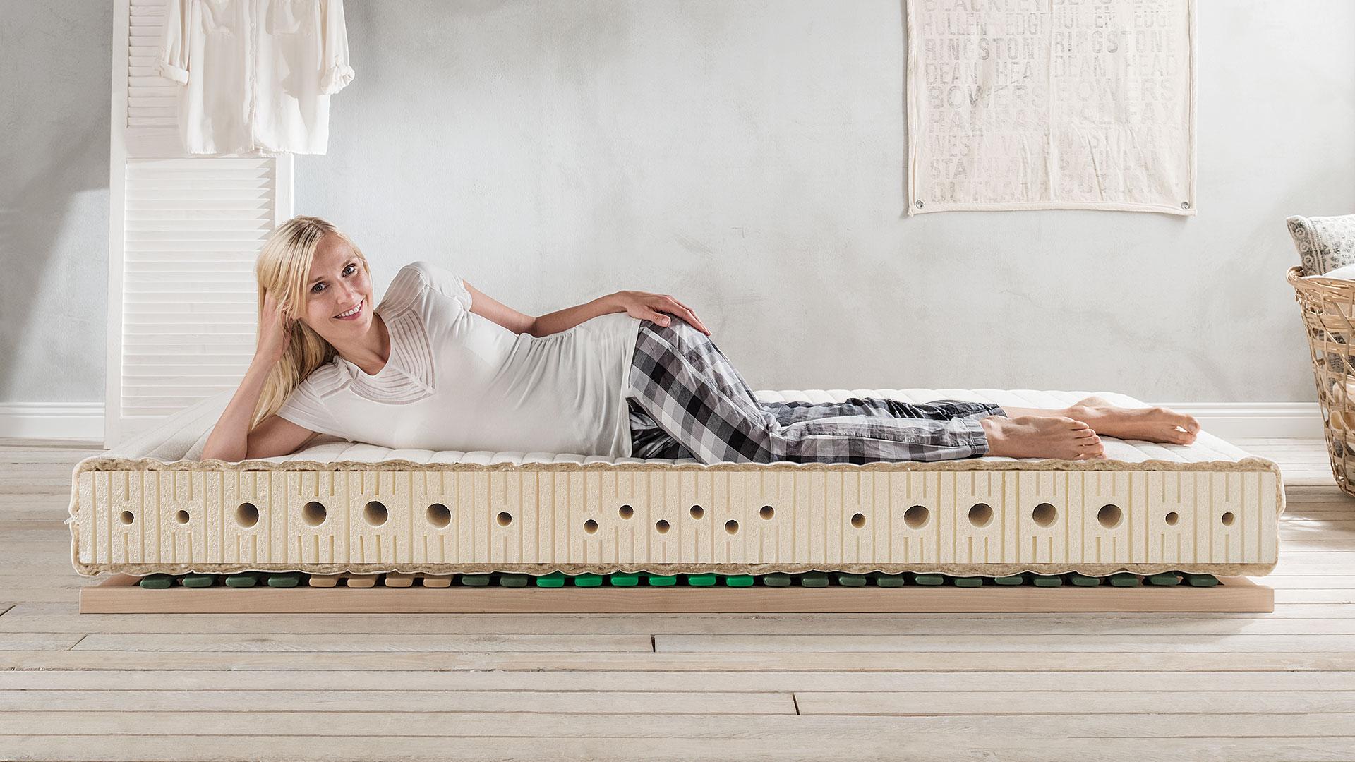 naturlatex matratze sanastar comfort. Black Bedroom Furniture Sets. Home Design Ideas