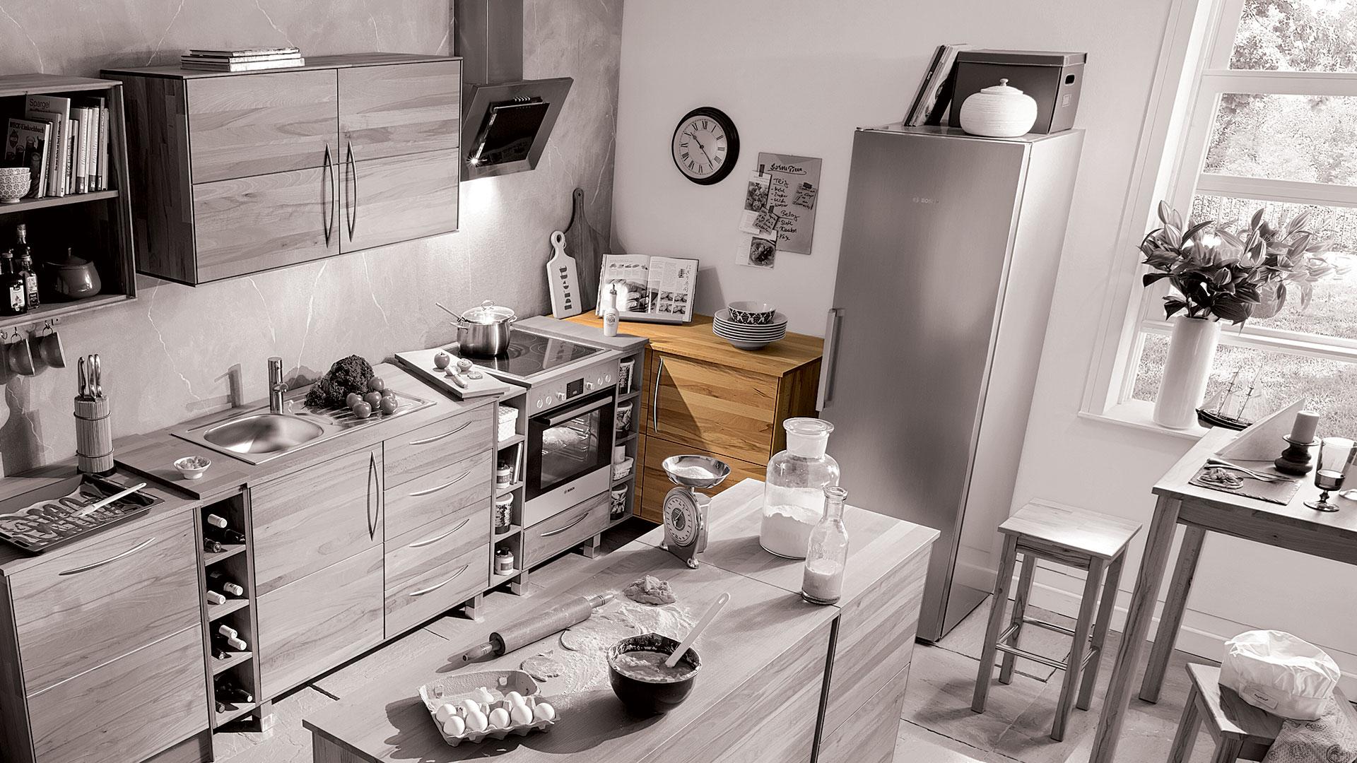 k chen eckunterschrank culinara 100 massivholz. Black Bedroom Furniture Sets. Home Design Ideas