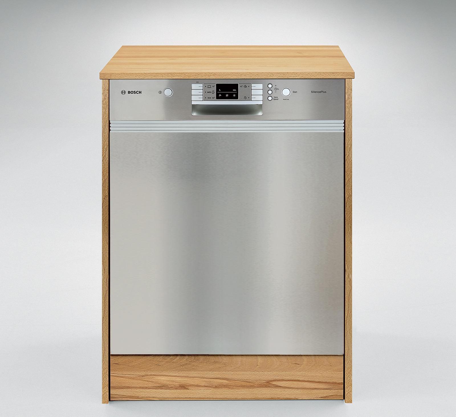 Geschirrspuler Einbauschrank Culinara 100 Massivholz