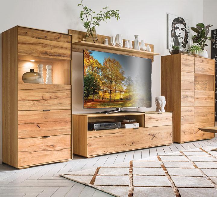 wohnzimmerm bel aus massivholz. Black Bedroom Furniture Sets. Home Design Ideas
