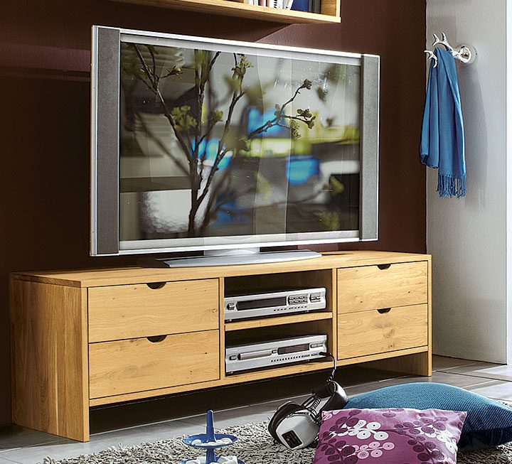 tv m bel aus massivholz. Black Bedroom Furniture Sets. Home Design Ideas