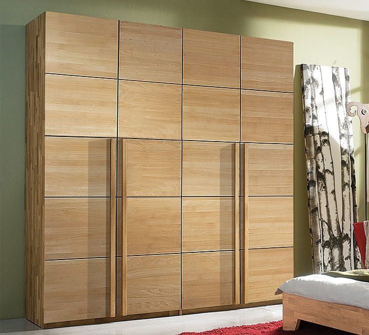 kleiderschr nke aus massivholz schadstoffgepr ft. Black Bedroom Furniture Sets. Home Design Ideas
