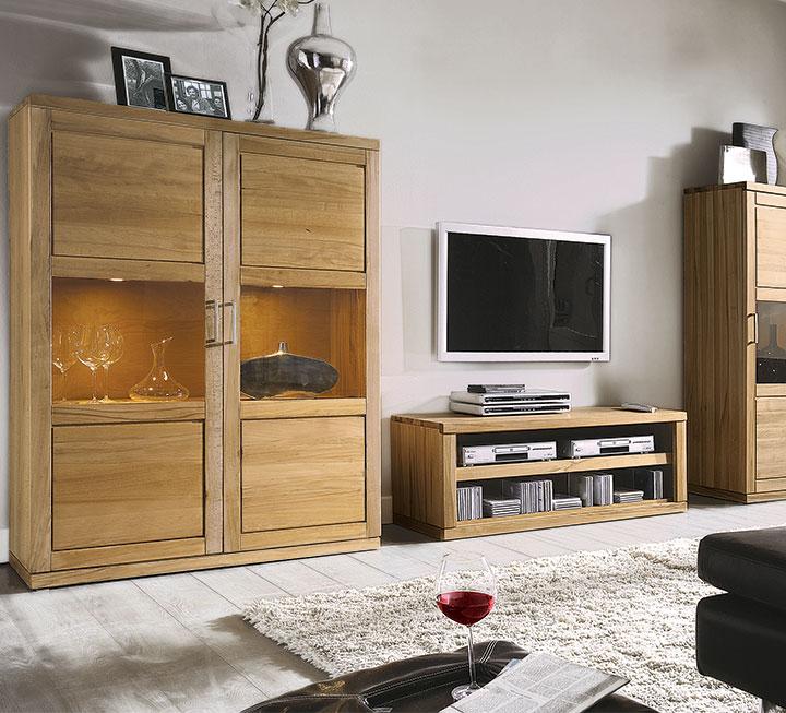 Wohnzimmermobel Aus Massivholz