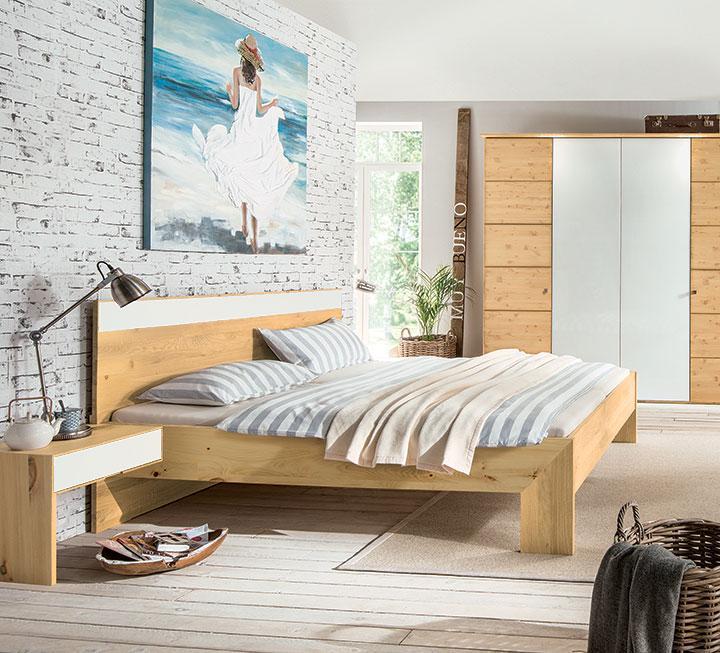 schlafzimmer aus massivem zirbenholz